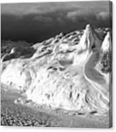 Snow Squal On Lake Michigan Canvas Print