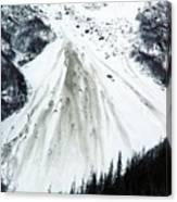 Snow Then Land Slide Canvas Print
