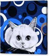 Snowball Encircled Canvas Print