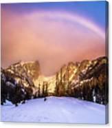 Snowbow Canvas Print