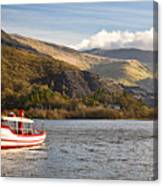 Snowdon Star Canvas Print