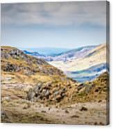Snowdonia Landscape Canvas Print