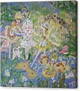 Snowdrop The Fairy And Friends Canvas Print