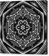 Snowflake 6 Canvas Print