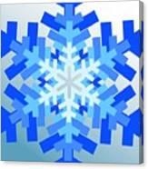 Snowflake Pile Canvas Print