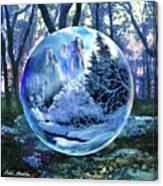 Snowglobular Canvas Print