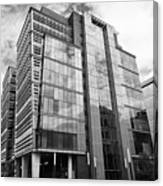 snowhill office development in new financial area of Birmingham UK Canvas Print