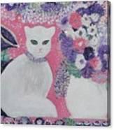 Snow's Garden Canvas Print