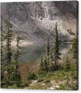 Snowy Mountain Loop 6 Canvas Print