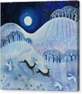 Snowy Peace Canvas Print