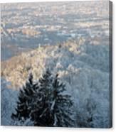 Snowy Turin Canvas Print