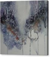 Snowy Web Trees Canvas Print