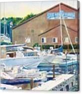 Snug Harbor II Canvas Print