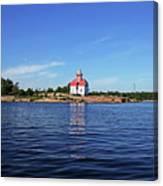 Snug Harbour Lighthouse Canvas Print