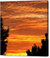 So Cal Sunset Canvas Print