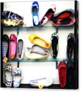 So Many Shoes... Canvas Print