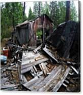 Soap Creek Debris, Real Estate Series Canvas Print