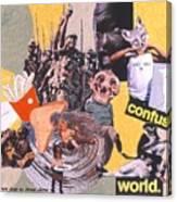 Soap Scene #13 Confused World Canvas Print