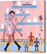 Soap Scene #16 Miracle Maids Canvas Print