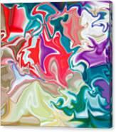 Soapy Car Shampoo Canvas Print