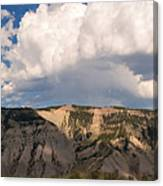 Soaring Above Mount Everts Canvas Print