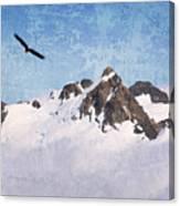 Soaring The Peaks Canvas Print
