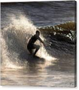 Socal Surfing Canvas Print