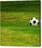 Soccer Season Canvas Print