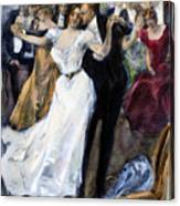 Society Ball, C1900 Canvas Print