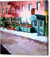 Society Hill Hotel Canvas Print