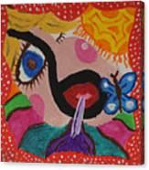Soda Sipper Canvas Print
