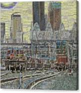 Sodo Tracks Canvas Print