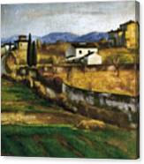 Soffici: Hill, 1922 Canvas Print
