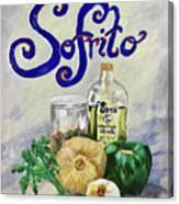 Sofrito Canvas Print