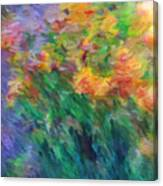 Soft Iris 2 Canvas Print