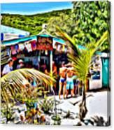 Soggy Dollar Bar Canvas Print