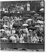 Soggy Supporters Canvas Print