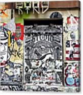 Soho Wall Canvas Print
