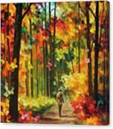 Soild Fall  Canvas Print