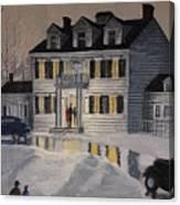 Soiree At Billings Estate Canvas Print
