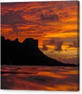 Sokeh's Rock Sunset Canvas Print