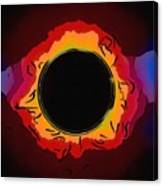 Solar Eclipse 3 Canvas Print