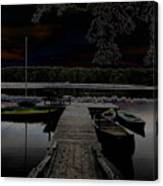 Solar Lake Canvas Print