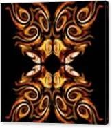 Solar Moth Canvas Print