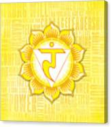 Solar Plexus Chakra - Awareness Canvas Print