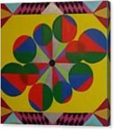 Solar Spin Canvas Print