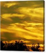 Solar Storm Sunset Canvas Print