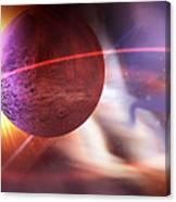Solar Turbulence Canvas Print
