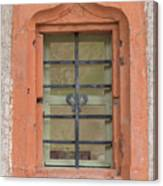 Soldatenbau Window Canvas Print