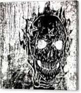 Soldier Ov Hell Canvas Print